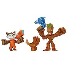 Marvel Avengers Super Hero Mashers Groot & Rocket Action Figure Toy Play New