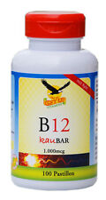 Vitamin B12 (Cobalamin) 1.000mcg mit Xylit KauBar, 100 Stk
