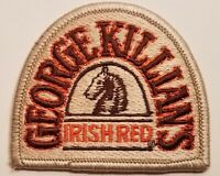 Vintage George Killians Irish Red Beer Hat Shirt Patch Label Logo Coors Brewery