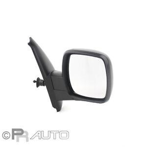 Renault Kangoo FW0/KW0 02/08-04/13 Außenspiegel Spiegel rechts schwarz