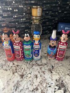 Disney Mickey Mouse 2 in 1 shampoo/conditioner bath bubbles Johnson & Johnson