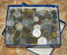 """Lotto/Stock/Monete""""ITALIAN FOREIGN SILVER COINS""""Lire Italiane/Estere/Argento/300"""