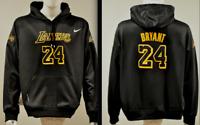 Kobe Bryant Lakers Black Mamba NBA Jersey Hooded Sweatshirt Embroidered Hoodie