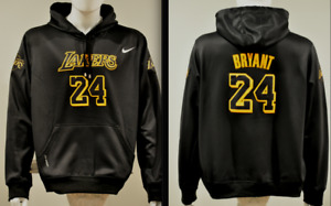 Kobe Bryant Lakers Black Mamba NBA Jersey Hooded Sweatshirt Embroidered Hoodie