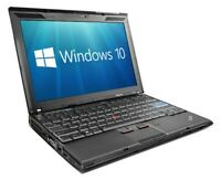 Cheap Lenovo Thinkpad X201 Laptop for Home Core i5 4GB RAM 160GB HDD Windows 10