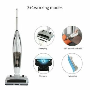 3 In 1 cordless Vacuum Cleaner Wet & Dry Upright Handheld Hoover Pets Dust Mop