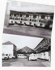 Two Old LCC London Ambulance Service Station Photographs