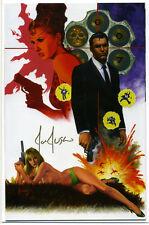 Dynamite James Bond #1 - 1st Print Comics Excl Virgin Var Signed by Jusko w COA