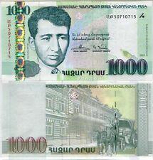 ARMENIA 1000 1,000 DRAM 2015 P 55 UNC