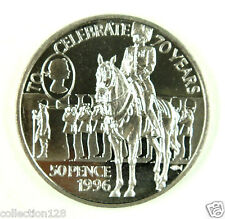 New listing St.Helena Coin 50 Pence 1996 Unc