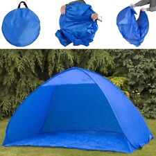 NEW Pop Up 2 Man Beach Camping Festival Fishing Garden Kids Tent Sun Shelter