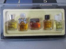 5 Parfums de Paris Miniaturen