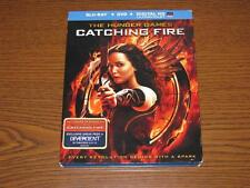The Hunger Games: Catching Fire (Blu-ray Disc, 2014, 2-Disc Set, Dig Copy) Cover