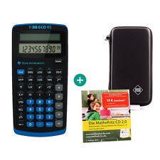 TI 30 ECO RS Taschenrechner + Schutztasche und MatheFritz Lern-CD
