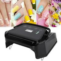 Cordless LED/ Nail Lamp Light Gel Polish Nail Dryer Wireless Rechargeable MR