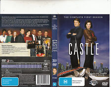 Castle-2009/16-TV Series USA-[The Complete First Season-3 Disc Set]-3 DVD