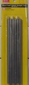 Micro Trains Line Z Scale 990 40 917 Straight Track 220mm 12Pcs