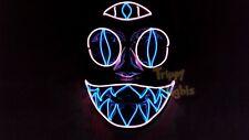 Third Eye Cotton Candy Chakra Cat Rave Halloween Costume Handmade Light Up MASK!