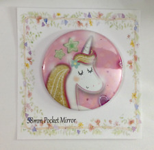 Pocket Mirror Unicorn Bag Makeup Birthday Party Bag Filler Wedding Favour Hen