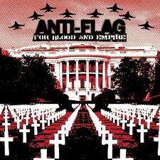 For Blood & Empire - Anti-Flag (2006, CD NUOVO) Explicit Version