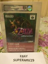 Zelda Majoras Mask JAPAN RELEASE 2000 VGA 95 ARCHIVAL CASE