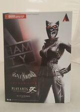 Batman Arkham City Play Arts Kai Catwoman Action Figure No. 2 - Square Enix- NEW
