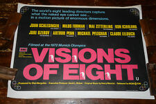 VISIONS OF EIGHT 1978 ROLLED Cinema Quad Poster MILOS FOREMAN, 1972 Olympics