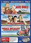Joe Dirt  / Benchwarmers/ Deuce Bigalow European Gigolo