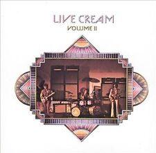 CREAM Live Cream Volume II CD BRAND NEW Remastered Eric Clapton Volume 2