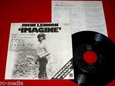 """JOHN LENNON (Beatles) -Imagine- Rare Japanese ODEON 7"""""""