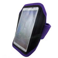 Armband per Samsung Galaxy Note 2 N7100 custodia VIOLA fascia braccio sport