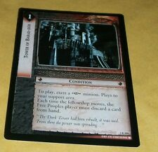 LOTR TCG ROTEL RARE CARD - 3R104 TOWER OF BARAD-DUR