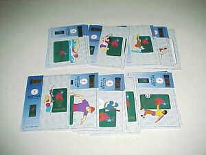 1996 Atlanta Summer Olympics Pin Card Set