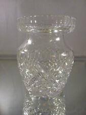 Vintage Waterford Alana Jam/Honey Jar   MISSING  LID  . USE  AS A VASE ?