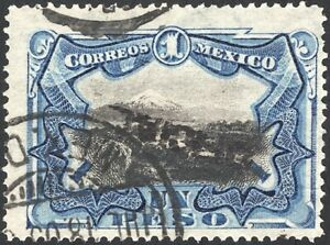 MEXICO, 1900. Official O57v, Inverted OP, Used