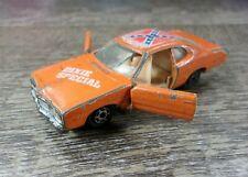 Diecast Orange 77 Yatming Dodge Dixie Special Dukes of Hazzard