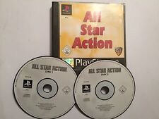 PS1 PLAYSTATION 1 ALL STAR ACTION GAMES COMPILATION SPEED DEMON REVS BATTLE TRUC