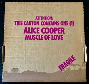 "ALICE COOPER ""MUSCLE OF LOVE"" - 33T WB 56018 - FIRST PRESS FRANCE 1973 - EX/NM"