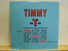 "★★ 7"" - TIMMY T - Time After Time (Vocal + Radio 96 Mix)"