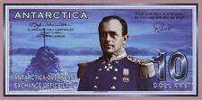 Antarctica 10 Dollars 2001 Capt. Scott / Landkarte (1)