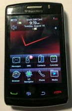 READ 1ST BlackBerry Bold 9550 Black Red Pocket T-Mobile Cell Phone Very Good