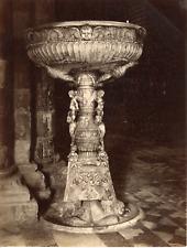 Italie, Siena, Sienne, la cathédrale, duomo, Acquasantiera di Antonio Federighi