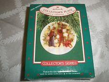 1987 Hallmark Christmas Collector'S Plate #1, Light Shines At Christmas T8418