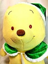 Walt Disney Baby Winnie The Pooh Electronic Musical Christmas Bear Plush Loose