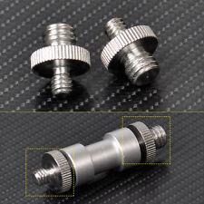 "2pcs 1/4"" to 3/8"" Male Threaded Screw Adapter for Camera Flash Tripod Ballhead"