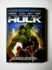 Marvel THE HULK DVD Digital Copy English French Spanish Edward Norton Liv Tyler