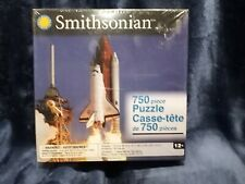 """Smithsonian Space Shuttle Discovery 750 Piece Jigsaw Puzzle 26"""" x 18"""" NEW Sealed"""