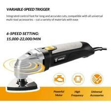 Electric Trimmer 300W Power Multifunction Oscillating Tool W Saw Accessories