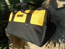 "New Dewalt DCK019 Tool Bag Bags Heavy Duty Ballistic Nylon 19"" x 12"" Sled Bottom"