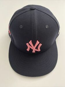 Michael King 2021 Game Worn & Used NY Yankees Mother's Day Hat Cap - MLB Holo